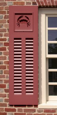 New Window Shutters Feature Interchangeable Panels With Unique Decorative Cutouts