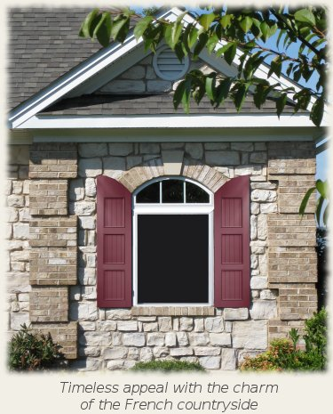 Shutterstile Offers New French Country Shutters