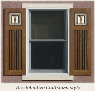 Mission style shutters for Spanish style shutters